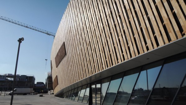 Le nouveau Palais des Congrès de Mons
