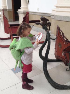 Les dragons au Musée du Cinquantenaire