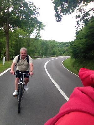 Balade en vélo entre Ourthe et Néblon