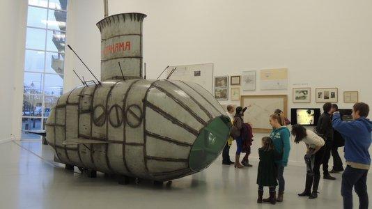 Exposition Panamarenko à Anvers