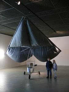 Panamarenko aux musées des Beaux-Arts de Bruxelles
