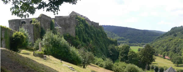 Photo panoramique de Bouillon