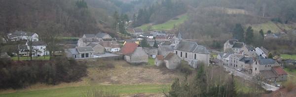 Sosoye : vue sur un des plus beaux villages de Wallonie