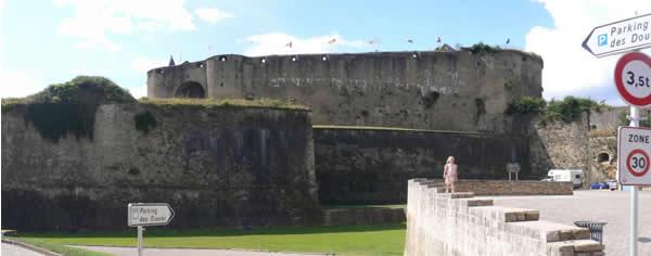 Photo panoramique du château-fort de Sedan