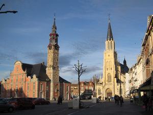 Saint Trond : la place du marché