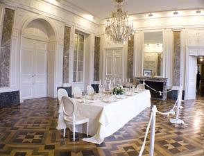 Intérieur du Château de Seneffe
