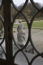 Le parc vu depuis les fenêtres du Château de Seneffe