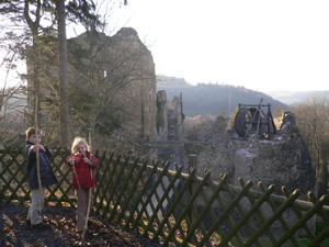 Les ruines du château de Franchimont