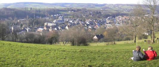 Vue panoramique de Theux