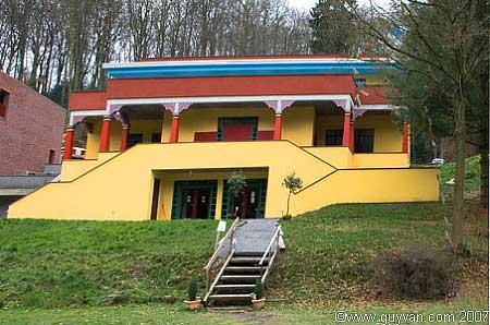 Le nouveau temple de Huy - extérieur