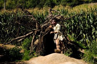 Le Troll dans le labyrinthe de Barvaux