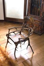 Château de Lavaux-Sainte-Anne : mobilier de chasse