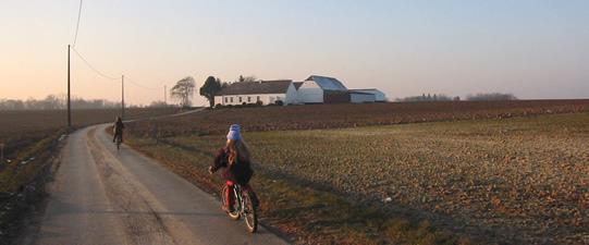 Balade vélo en Hesbaye