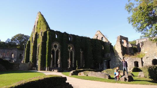 Abbaye de Villers-la-Ville en 2013