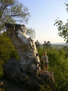 La pierre Haina à Weris
